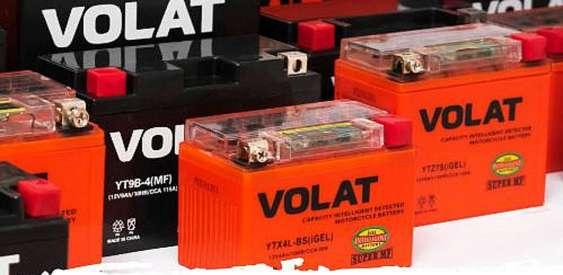 В торговой сети «Первая аккумуляторная компания» - на мотобатареи Volat скидка 20 %