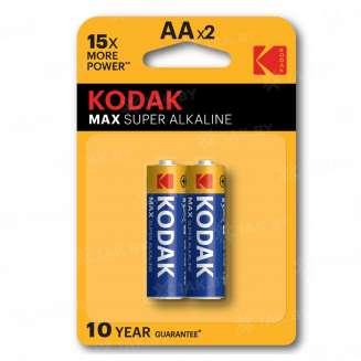 Элемент питания Kodak MAX LR6-2BL [KAA-2] (блистер 2шт. АА), Китай 0