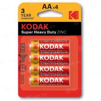 Элемент питания Kodak R6-4BL EXTRA HEAVY DUTY [KAAHZ-4] (блистер 4шт.AA), Китай 0