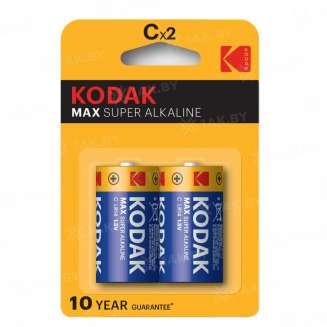 Элемент питания Kodak MAX LR14-2BL [KC-2] (блистер 2шт. C), Китай 0