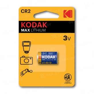 Элемент питания Kodak CR2 [KCR2-1] (уп.TRAY 1шт.), Китай 0