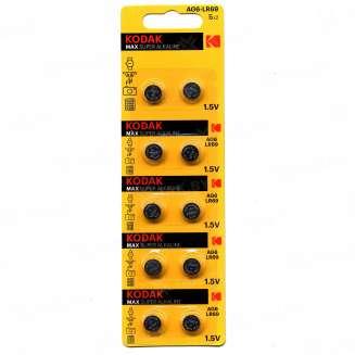 Элемент питания Kodak AG6 (370) LR920, LR69 [KAG6-10] (уп.TRAY 10шт.), Китай 0