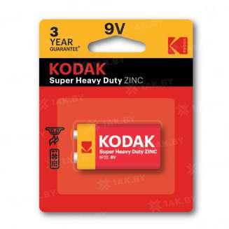 Элемент питания Kodak 6F22-1BL EXTRA HEAVY DUTY [K9VHZ-1B] (блистер 1шт.9V), Китай 0
