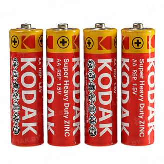 Элемент питания Kodak R6-4S EXTRA HEAVY DUTY [KAAHZ 4S] (уп. TRAY 4шт.AA), Китай 0