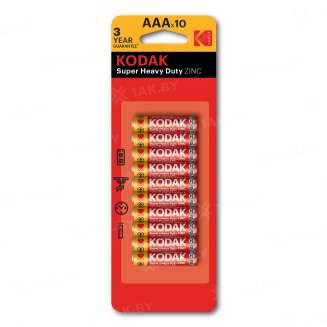 Элемент питания Kodak R03-10+1BL EXTRA HEAVY DUTY [K3AHZ-10+1] (блистер 11шт.AAA), Китай 0