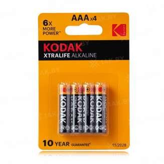 Элемент питания Kodak LR03-4BL XTRALIFE [K3A-4] (блистер 4шт.AАА), Китай 0