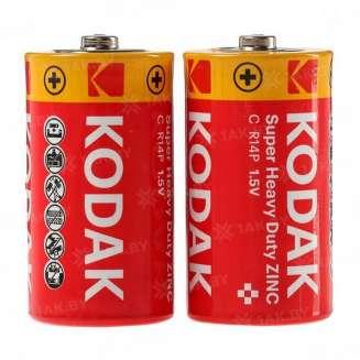 Элемент питания Kodak R14-2S EXTRA HEAVY DUTY [KCHZ 2S] (уп. TRAY 2шт.C), Китай 0