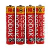 Элемент питания Kodak R03-4S EXTRA HEAVY DUTY [K3AHZ 4S] (уп. TRAY 4шт.AAA), Китай