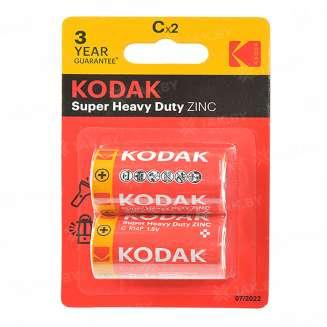 Элемент питания Kodak R14-2BL EXTRA HEAVY DUTY [KCHZ-2] (блистер 2шт.C), Китай 0