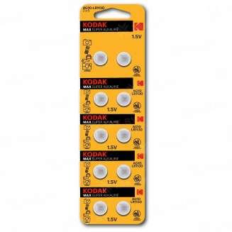 Элемент питания Kodak AG10 (389) LR1130, LR54 [KAG10-10] (уп.TRAY 10шт.), Китай 0