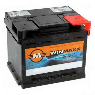 Аккумулятор WINMAXX (44 Ah) 400 A, 12 V Обратная, R+ 0