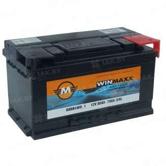 Аккумулятор WINMAXX (80 Ah) 750 A, 12 V Обратная, R+ 0