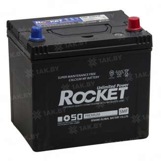 Аккумулятор ROCKET (80 Ah) 650 A, 12 V Обратная, R+ 0