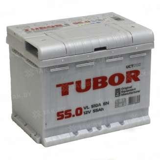 Аккумулятор TUBOR (55 Ah) 510 A, 12 V Обратная, R+ 0