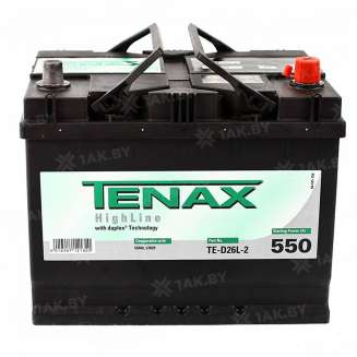 Аккумулятор TENAX (68 Ah) 550 A, 12 V Обратная, R+ 0