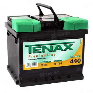 Аккумулятор TENAX (45 Ah) 440 A, 12 V Обратная, R+ 0