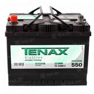 Аккумулятор TENAX (68 Ah) 550 A, 12 V Прямая, L+ 0