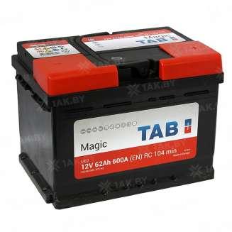 Аккумулятор TAB (62 Ah) 600 A, 12 V Обратная, R+ 0