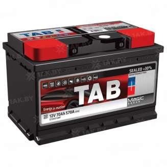 Аккумулятор TAB (70 Ah) 570 A, 12 V Обратная, R+ 0