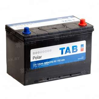 Аккумулятор TAB (105 Ah) 900 A, 12 V Обратная, R+ 0