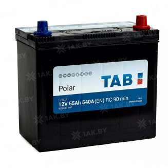 Аккумулятор TAB (55 Ah) 540 A, 12 V Обратная, R+ 0