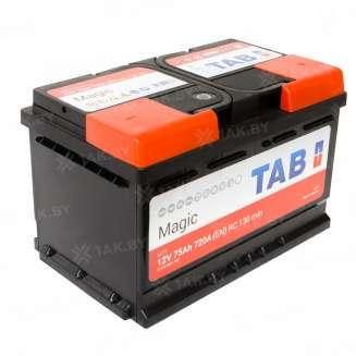 Аккумулятор TAB (75 Ah) 720 A, 12 V Обратная, R+ 0