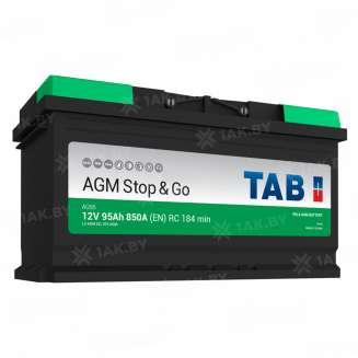 Аккумулятор TAB (95 Ah) 850 A, 12 V Обратная, R+ 0