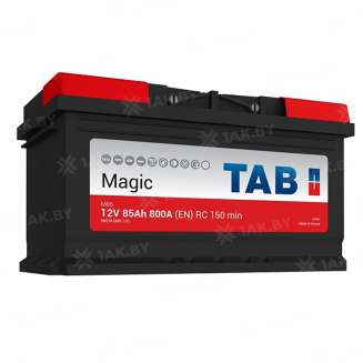 Аккумулятор TAB (85 Ah) 800 A, 12 V Обратная, R+ 0