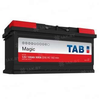 Аккумулятор TAB (100 Ah) 900 A, 12 V Обратная, R+ 0