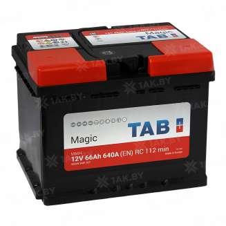 Аккумулятор TAB (66 Ah) 640 A, 12 V Обратная, R+ 0