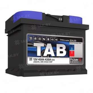 Аккумулятор TAB (45 Ah) 420 A, 12 V Обратная, R+ 0