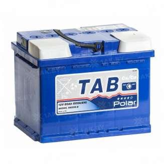 Аккумулятор TAB (60 Ah) 600 A, 12 V Обратная, R+ 0