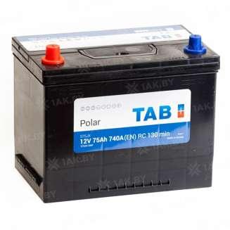 Аккумулятор TAB (75 Ah) 740 A, 12 V Прямая, L+ 0