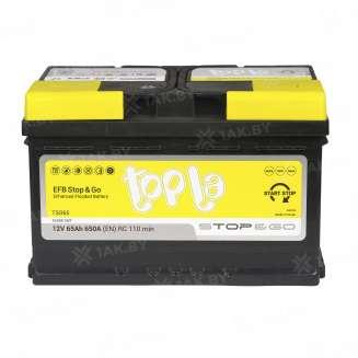 Аккумулятор TOPLA (65 Ah) 650 A, 12 V Обратная, R+ 1