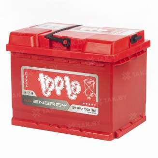 Аккумулятор TOPLA (60 Ah) 550 A, 12 V Прямая, L+ 0