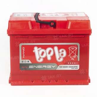 Аккумулятор TOPLA (60 Ah) 550 A, 12 V Прямая, L+ 1