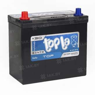 Аккумулятор TOPLA (55 Ah) 540 A, 12 V Прямая, L+ 2