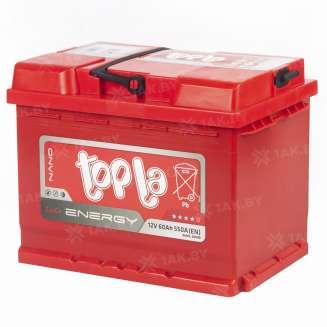 Аккумулятор TOPLA (60 Ah) 550 A, 12 V Обратная, R+ 1