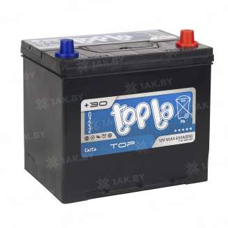 Аккумулятор TOPLA (65 Ah) 650 A, 12 V Обратная, R+ 2