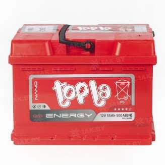 Аккумулятор TOPLA (55 Ah) 550 A, 12 V Обратная, R+ 0