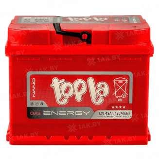 Аккумулятор TOPLA (45 Ah) 420 A, 12 V Обратная, R+ 1