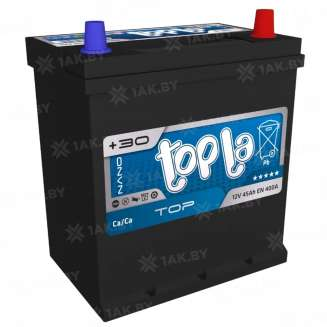 Аккумулятор TOPLA (45 Ah) 400 A, 12 V Обратная, R+ 0