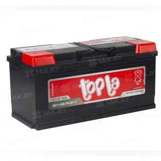 Аккумулятор TOPLA (110 Ah) 1000 A, 12 V Обратная, R+ 0