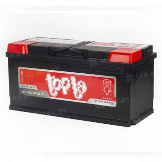 Аккумулятор TOPLA (110 Ah) 1000 A, 12 V Обратная, R+ 1
