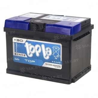 Аккумулятор TOPLA (62 Ah) 600 A, 12 V Обратная, R+ 0