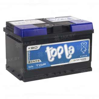 Аккумулятор TOPLA (75 Ah) 720 A, 12 V Обратная, R+ 0