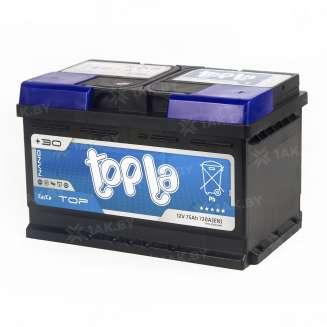 Аккумулятор TOPLA (75 Ah) 720 A, 12 V Обратная, R+ 1