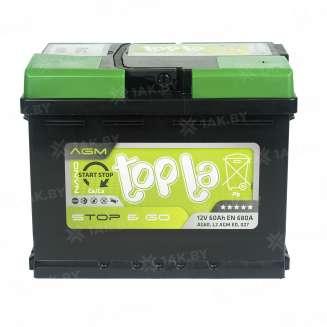 Аккумулятор TOPLA (60 Ah) 680 A, 12 V Обратная, R+ 1