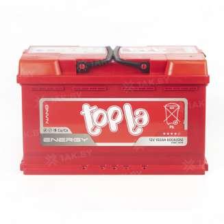 Аккумулятор TOPLA (100 Ah) 800 A, 12 V Обратная, R+ 0