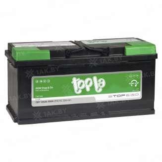 Аккумулятор TOPLA (105 Ah) 850 A, 12 V Обратная, R+ 0